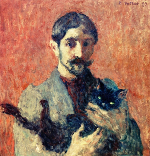 Louis Valtat,  Self-Portrait with Cat.jpg