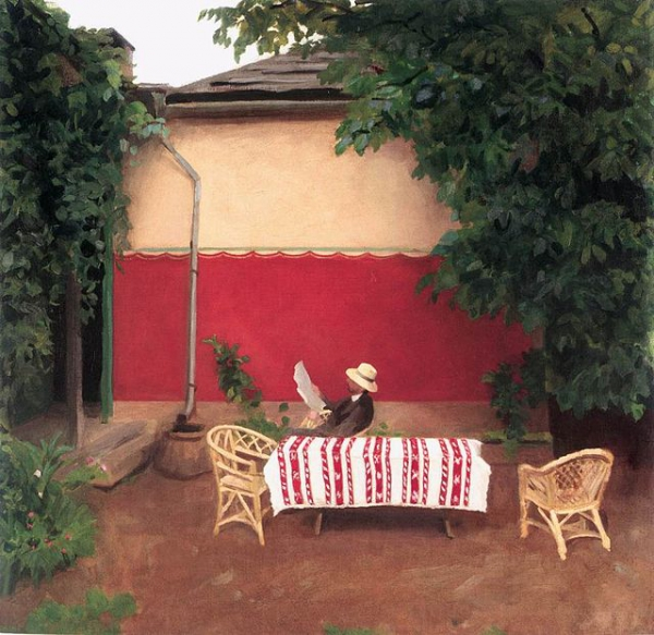 Ferenczy,_Károly_-_Red_Wall_(1910).jpg