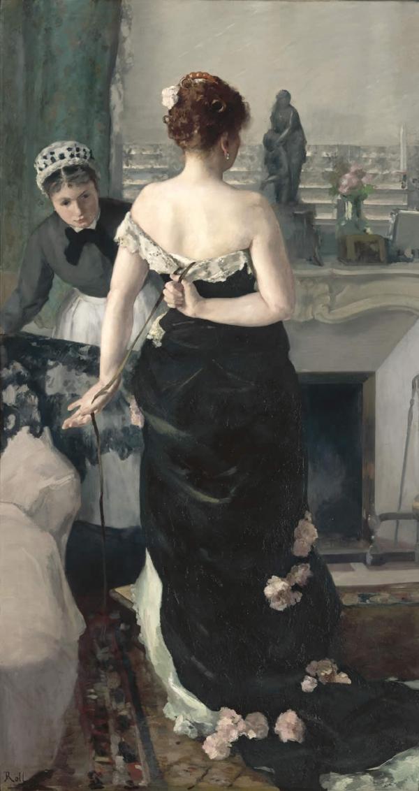 Alfred Roll - Retour du bal.jpg