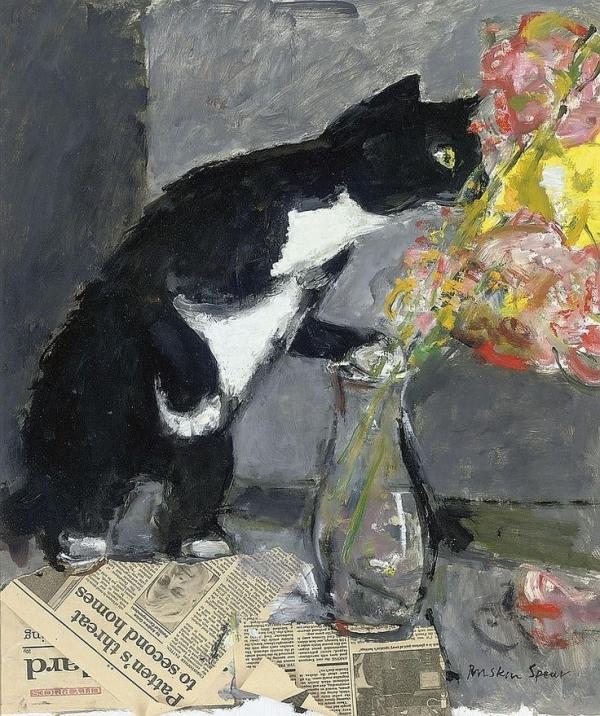 bfc7e7e65cb40d4e1acad2d8ba3b4f62--cat-paintings-flower-paintings.jpg