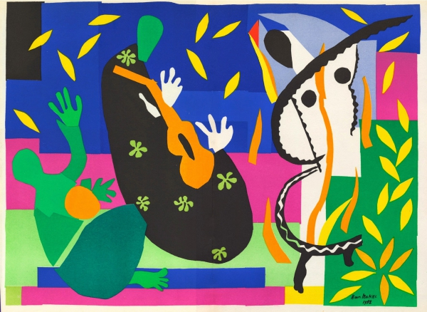 Henri Matisse - 'Tristesse du Roi (Sorrow of the King)', 1952.jpg