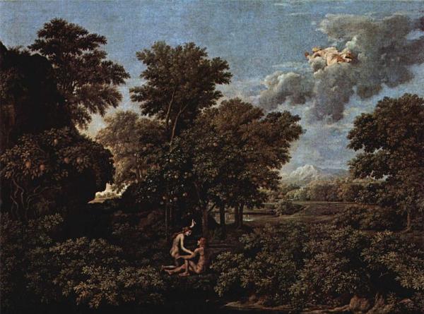 Nicolas_Poussin, le printemps ou le paradis terrestre, huile sur toile, 1660-64, 117x160cm,Louvre.jpg