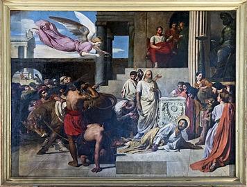 Eglise_Notre-Dame_du_Taur_-_Le_martyre_de_Saint_Saturnin_par_Jean-Louis_BÉZARD.jpg